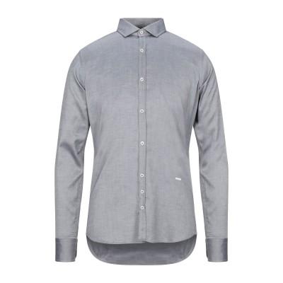 アリーニ AGLINI シャツ グレー 39 コットン 100% シャツ