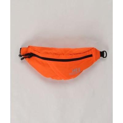 バッグ ウエストポーチ 【MEI】ワンポイントロゴ 蛍光色 ボディバッグ ウエストバッグ