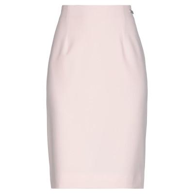 アレッサンドロデラクア ALESSANDRO DELL'ACQUA ひざ丈スカート ライトピンク 40 ポリエステル 90% / ポリウレタン 10