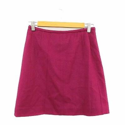 【中古】トゥモローランドコレクション TOMORROWLAND collection スカート 台形 ミニ 38 紫 パープル /AAM33