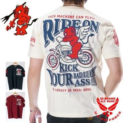テッドマン フライングプリント 半袖Tシャツ メンズ TEDMANS tdss-508