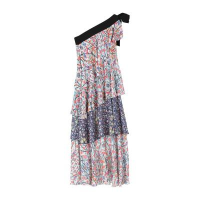 ミアハタミ MIAHATAMI ロングワンピース&ドレス ホワイト 40 ポリエステル 100% ロングワンピース&ドレス