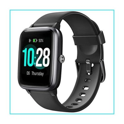 Letsfit Smart Watch, Fitness Tracker with Heart Rate Monitor, Activity Tracker with 1.3 Inch Touch Screen, IP68 Waterproof Pedometer Smartwa