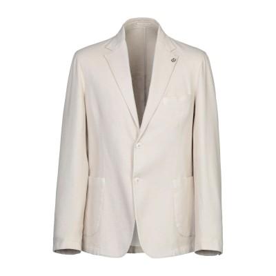 ALESSANDRO GILLES テーラードジャケット ベージュ 52 コットン 97% / ポリウレタン 3% テーラードジャケット