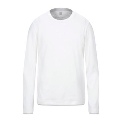 イレブンティ ELEVENTY T シャツ ホワイト S コットン 100% T シャツ