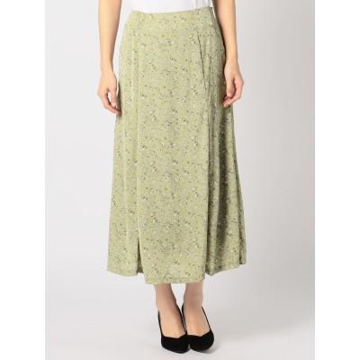 花柄ソフトマーメイドスカート