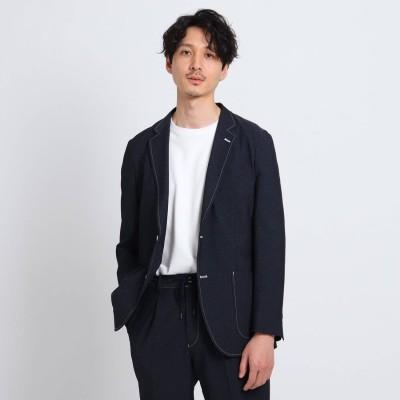 タケオ キクチ TAKEO KIKUCHI 4WAYカットソーデニムジャケット (ダークネイビー)
