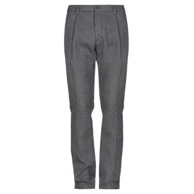 DOPPIAA パンツ ブラック 46 コットン 50% / ポリエステル 28% / バージンウール 22% パンツ
