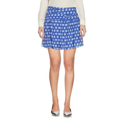 メルシー ..,MERCI ミニスカート ブルー 40 レーヨン 100% ミニスカート