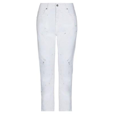 スーベニア SOUVENIR パンツ ホワイト S コットン 97% / ポリウレタン 3% パンツ