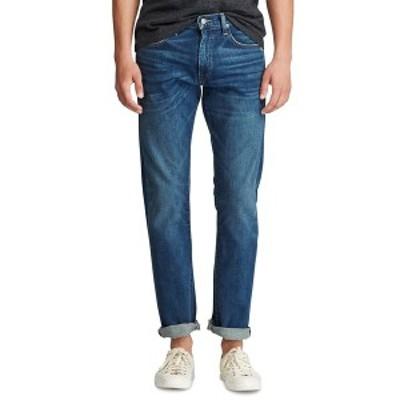 ラルフローレン メンズ デニムパンツ ボトムス Men's Varick Slim Straight Jeans Rockford Medium