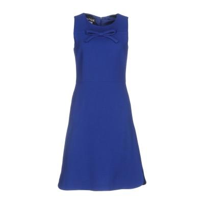 BOUTIQUE MOSCHINO ミニワンピース&ドレス ブルー 40 バージンウール 100% ミニワンピース&ドレス