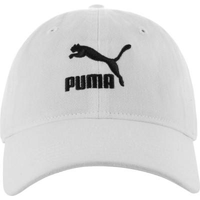 プーマ PUMA メンズ キャップ 帽子 Archive Adjustable Dad Cap White/Black
