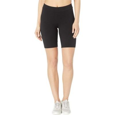 フエ HUE レディース ショートパンツ ボトムス・パンツ High-Waist Blackout Cotton Bike Shorts Black