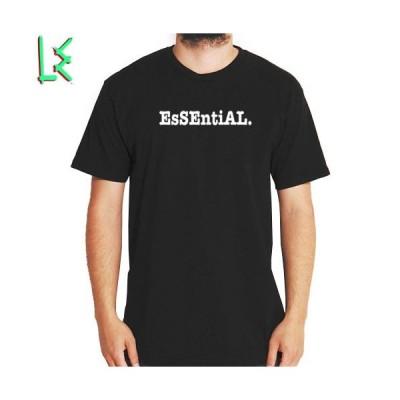 アウトレット Tシャツ メンズ  エルイー LE SKATEBOARDS ESSENTIAL TEE ブラック NO3