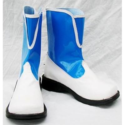 Gargamel コスプレ靴 FFX-2 ファイナルファンタジー リュック コスプレブーツm289