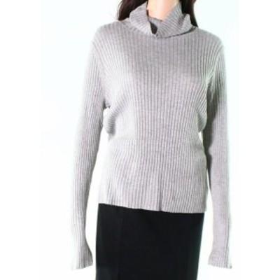 ファッション トップス Abound NEW Gray Womens Size Large L Ribbed Slim Fit Turtleneck Sweater 734