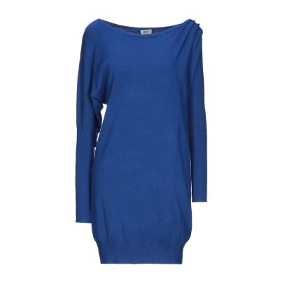 リュー ジョー LIU •JO ミニワンピース&ドレス ブルー L レーヨン 80% / ナイロン 15% / ポリウレタン 5% ミニワンピース&