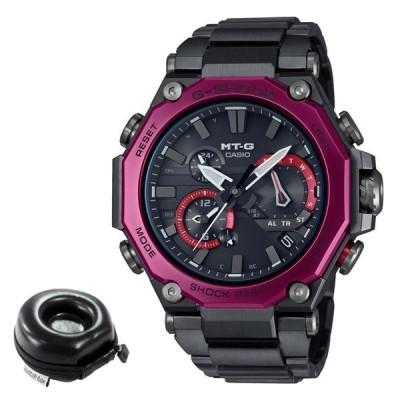 (丸型時計ケース付)カシオ CASIO 腕時計 MTG-B2000BD-1A4JF Gショック G-SHOCK メンズ MT-G Bluetooth搭載 電波ソーラー(国内正規品)