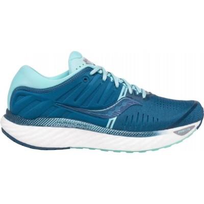 サッカニー Saucony レディース ランニング・ウォーキング シューズ・靴 Hurricane 22 Running Shoes Blue/Aqua