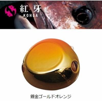 ダイワ  紅牙 ベイラバー フリー ヘッド α (アルファ) 80g 鍍金ゴールドオレンジ / 鯛ラバ タイラバ (メール便可) (O01)