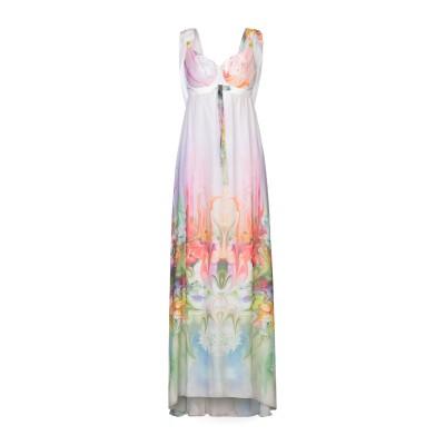 X'S MILANO ロングワンピース&ドレス アイボリー 46 ポリエステル 100% ロングワンピース&ドレス