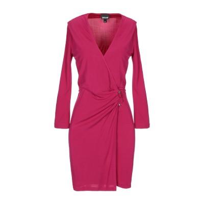 ジャストカヴァリ JUST CAVALLI ミニワンピース&ドレス フューシャ 40 レーヨン 100% ミニワンピース&ドレス