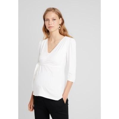 アンヴィ ド フレーズ レディース カットソー トップス CYBELLE  - Long sleeved top - off white off white