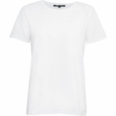 フレンチコネクション French Connection レディース Tシャツ トップス Crew Neck T-Shirt White