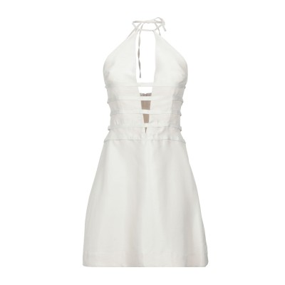 CULT GAIA ミニワンピース&ドレス アイボリー XS レーヨン 84% / シルク 16% ミニワンピース&ドレス