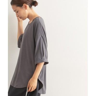 NERGY / 【ソフトタッチ】【抗菌&吸汗速乾】ビッグシルエットTシャツ WOMEN トップス > Tシャツ/カットソー