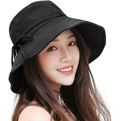 レディースハットバイザー 帽子 キャップ レディース ワイヤ入り 紫外線対策 UVカット折りたたみ 日よけ 人気 おしゃれ 春 夏 秋 あご