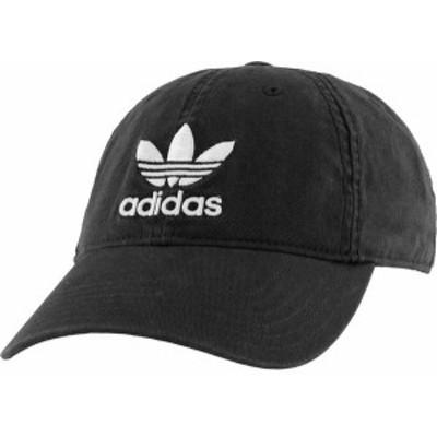 アディダス メンズ 帽子 アクセサリー adidas Men's Originals Relaxed Hat Black/White