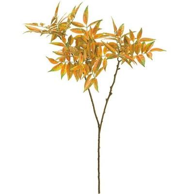 人工観葉植物 全長100cm 紅葉 秋ディスプレイ 造花 人工樹木 花材 リーフ アレンジ
