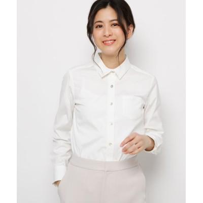 Sofuol(ソフール) シェルボタンベーシックシャツ