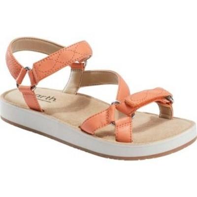 カルソーアースシューズ Earth レディース サンダル・ミュール シューズ・靴 Sylt Saba Active Sandal Cantaloupe River Nappa Leather