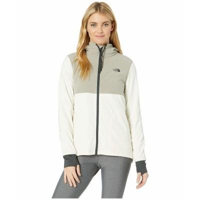 ノースフェイス コート アウター レディース Mountain Sweatshirt Full Zip Silt Grey/Vintage White