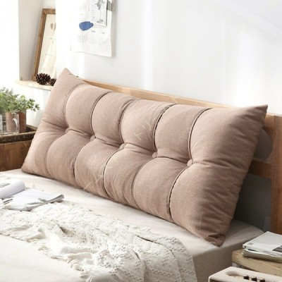 ベッド 背もたれ枕 三角クッション 高反発 ベッド ウェッジクッション 布張り ヘッドボード バック ベッド リラックス ベッドルーム インテリア ソファー用