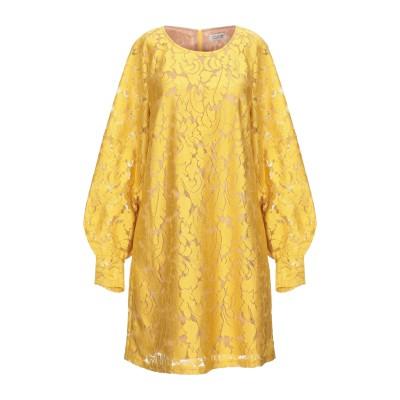 MOLLY BRACKEN ミニワンピース&ドレス オークル M ポリエステル 100% ミニワンピース&ドレス