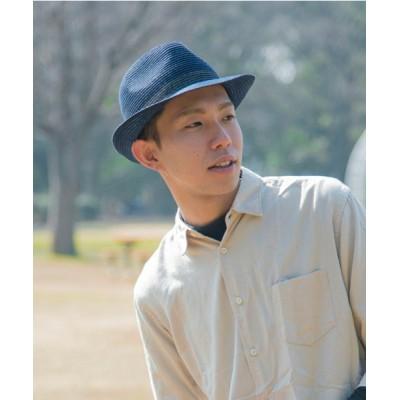 OVERRIDE / 洗濯機で洗える帽子【CASTANO】MW BRAID HIGHBACK MANNISH /【カスターノ】ブレード MEN 帽子 > ハット