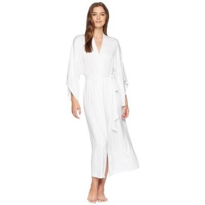 エバージェイ ナイトウェア アンダーウェア レディース Colette Long Kimono Robe White