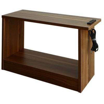 サイドテーブル テーブル ソファ横 70 コンセント 北欧 おしゃれ モダン シンプル W70 ELTREAT 単品