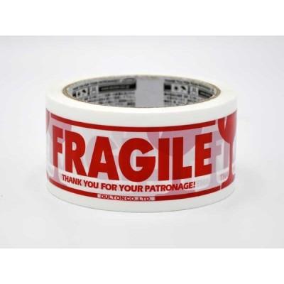 パッキングテープ FRAGILE 5個セット ガムテープ 白 赤 梱包 割れ物注意 フラジール かわいい おしゃれ ショップ用品 店舗用 事務用品 輸入雑貨