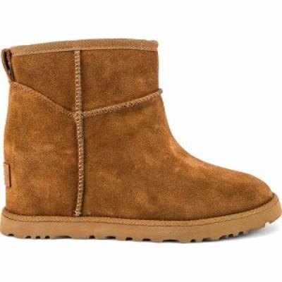 アグ UGG レディース ブーツ シューズ・靴 Classic Femme Mini Boot Chestnut