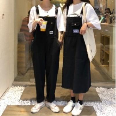 サロペット オーバーオール サロペットスカート 秋物 【R0902】