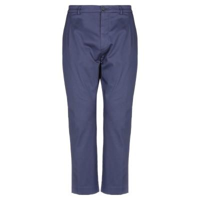 ペンス PENCE パンツ ブルー 50 コットン 98% / ポリウレタン 2% パンツ