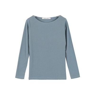 神戸レタス Vネック/Uネック/ボートネック 前身二重長袖Tシャツ C3655