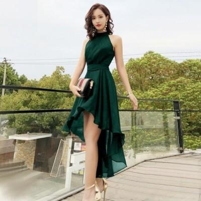 パーティードレス フィッシュテール フィッシュテール ドレス フィッシュテール ワンピース パーティードレス 大きいサイズ シフォン ワ