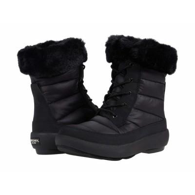 スペリー ブーツ&レインブーツ シューズ レディース Bearing PlushWave Boots Nylon Black/Black