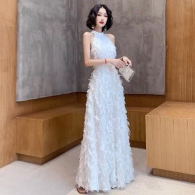 ウェディングドレス スレンダー 白 ロングドレス 結婚式 二次会 ドレス 花嫁 ノースリーブ ドレス 大きいサイズ 3l 4l 小さいサイズ